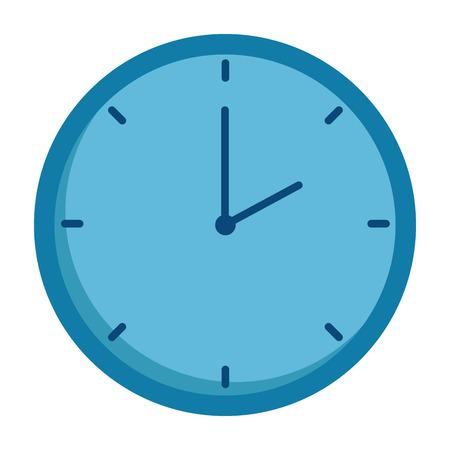 time clock isolated icon vector illustration design 版權商用圖片 - 90625812
