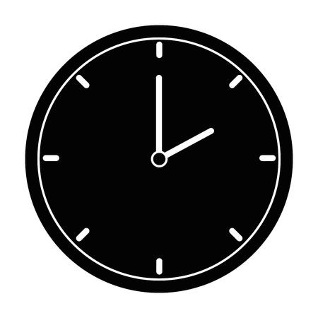 Zeituhr isoliert Symbol Vektor-Illustration , Design , Standard-Bild - 90650021