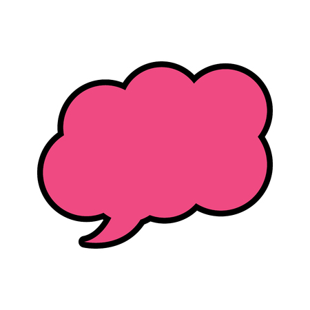 speech or thought bubble icon image vector illustration design