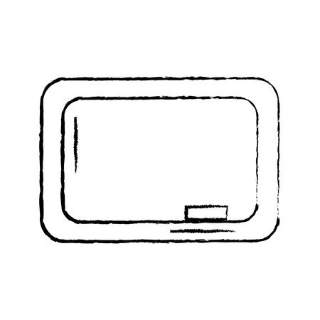 chalkboard school icon image vector illustration design  black sketch line