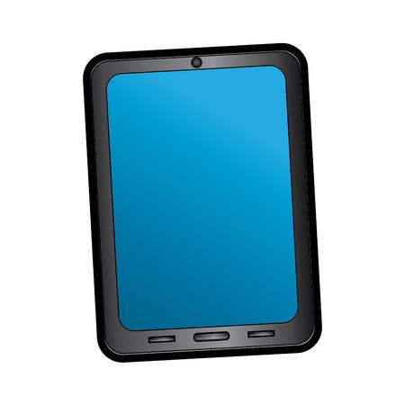 smartphone digital device icon image vector illustration design