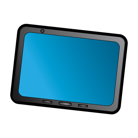 tablet device icon image vector illustration design Фото со стока - 90665530
