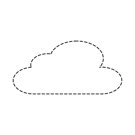 cloud sky climate meteorology design vector illustration sticker 向量圖像