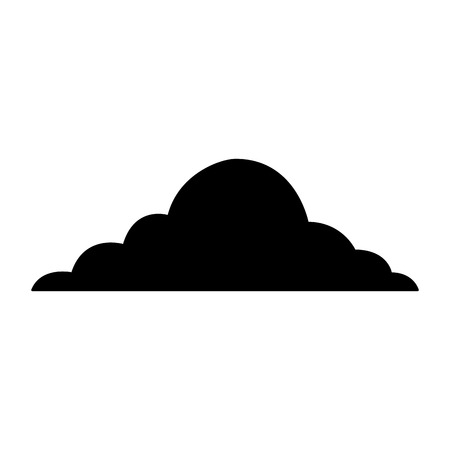 cloud sky weather cumulus view scene vector illustration Фото со стока - 90800863