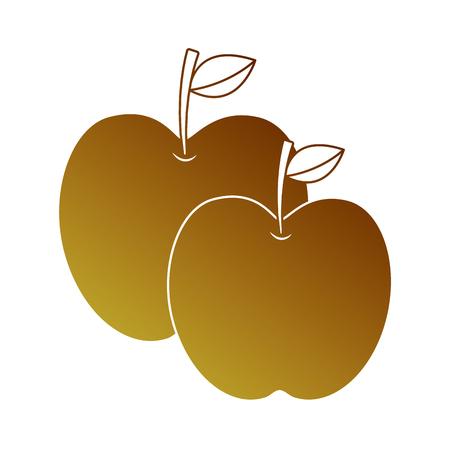フルーツ熱帯栄養食品  イラスト・ベクター素材