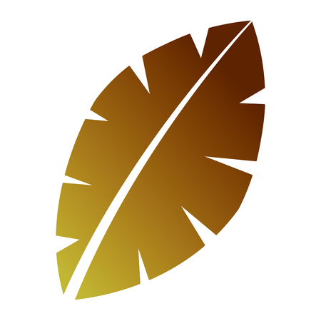 Leaf palm tree Banco de Imagens - 90824252