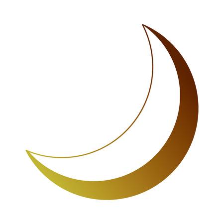 Half moon Vettoriali