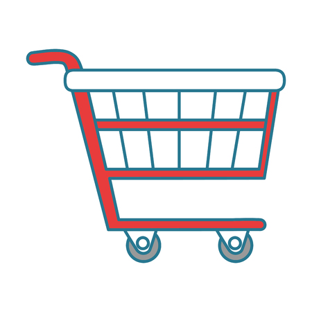 shopping cart isolated icon vector illustration design
