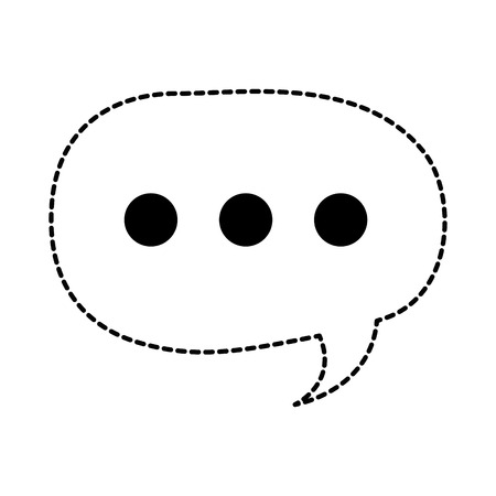 Speech bubble icon Ilustrace