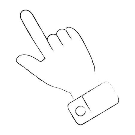 Ícono de índice de mano