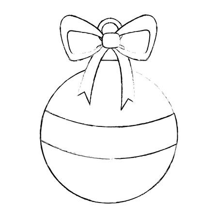 Christmas ball icon Stock Vector - 90826446