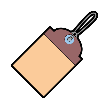 Shopping tag icon Illustration