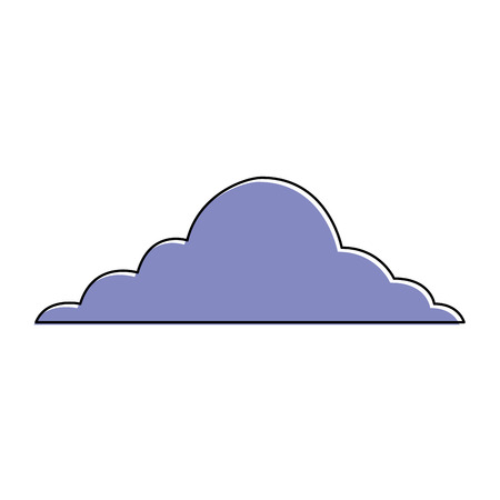 cloud sky weather cumulus view scene vector illustration Фото со стока - 90828675