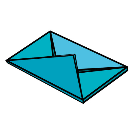 mail envelope isolated icon vector illustration design