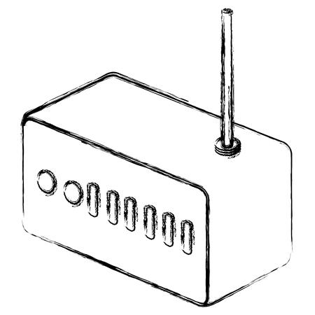 Routeur wifi isolé icône vector illustration design Banque d'images - 90828935
