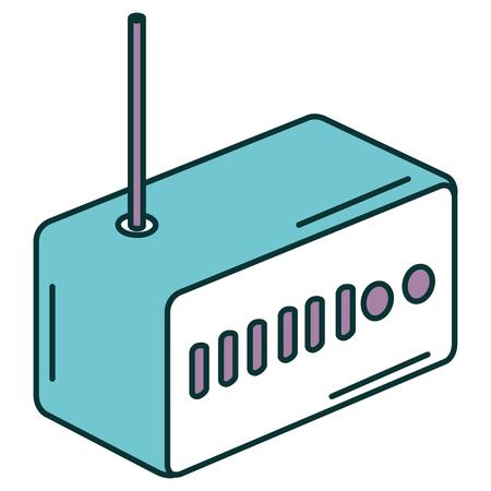 Routeur wifi isolé icône vector illustration design Banque d'images - 90829114