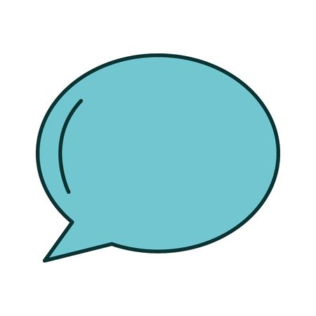 speech bubble isolated icon vector illustration design Stok Fotoğraf - 90829268