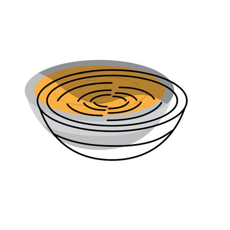 Traditionelles Essen Katalonien Romesco Gastronomie Vektor-Illustration Standard-Bild - 90829342