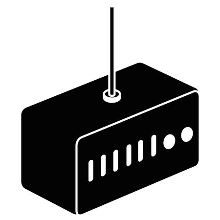 라우터 wifi 격리 된 아이콘 벡터 일러스트 레이 션 디자인 일러스트