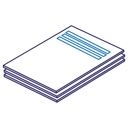 documents paper isolated icon vector illustration design