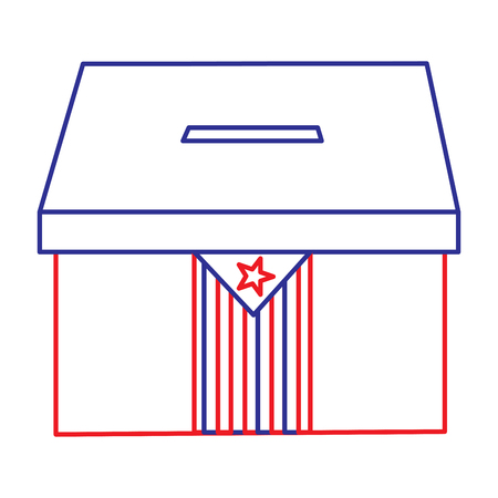 Drapeau catalunya indépendance vote icône image illustration vectorielle Banque d'images - 90829712