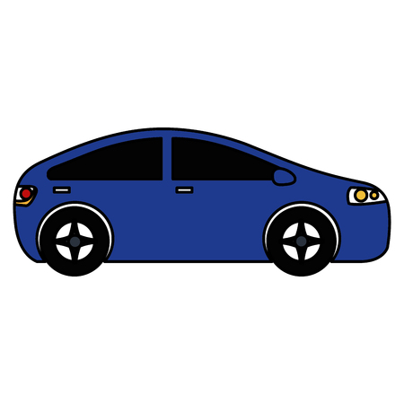 modern car isolated icon vector illustration design