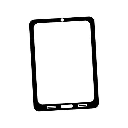 장치 기술 태블릿 가제트 그림입니다. 일러스트
