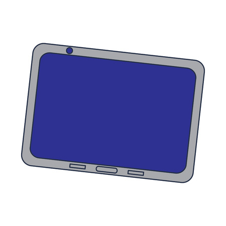 Device technology tablet gadget, vector illustration. 向量圖像