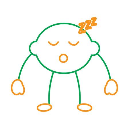 Lemon citrus fruit cartoon face vector illustration line green orange Stok Fotoğraf - 90839014