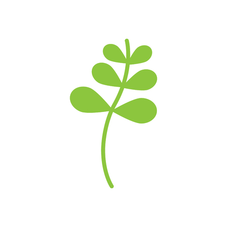 Plant wild weed icon vector illustration