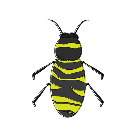 insect bug icon image vector illustration design Banco de Imagens - 90839183