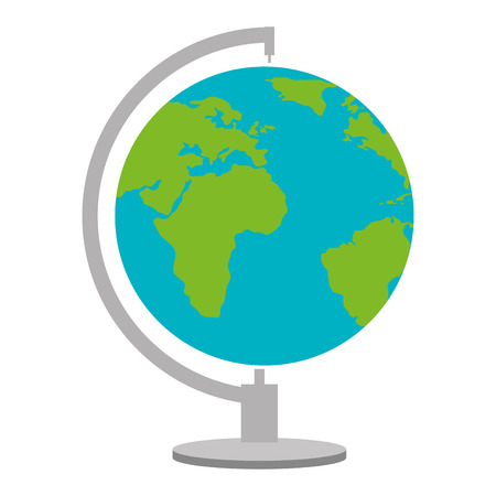 World planet earth icon, vector illustration design.