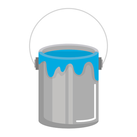 paint pot isolated icon vector illustration design Çizim