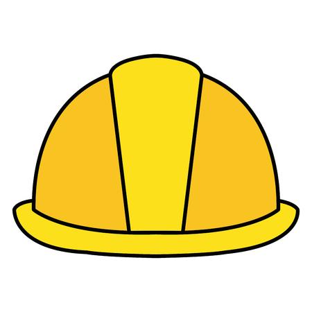 ヘルメット免震建設アイコン ベクトル イラスト デザイン