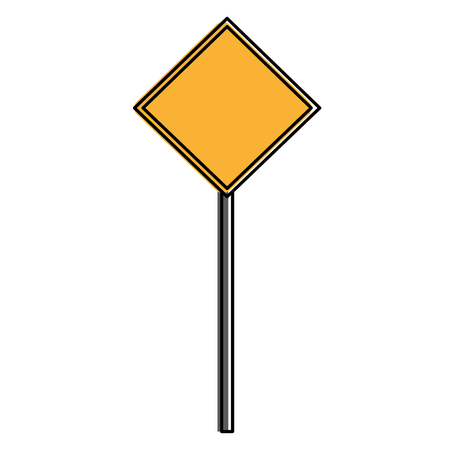 Construction caution signal icon vector illustration design. Ilustrace