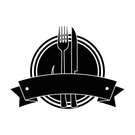 set cutlery tools in cup vector illustration design 일러스트
