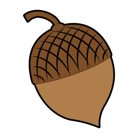 Het pictogramontwerp van notenvruchten geïsoleerd pictogram Stockfoto - 91076876