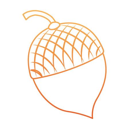 Het pictogramontwerp van notenvruchten geïsoleerd pictogram Stockfoto - 91080802