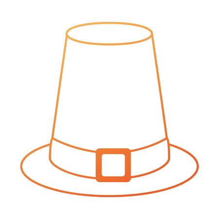 感謝祭分離帽子アイコン イラスト デザイン  イラスト・ベクター素材