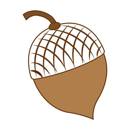 Ontwerp van de noten het vruchten geïsoleerde pictogram vectorillustratie Stockfoto - 91084624