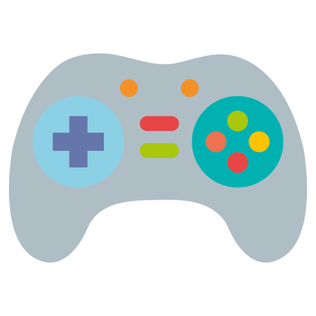 video game controller isolated icon vector illustration design Illustration