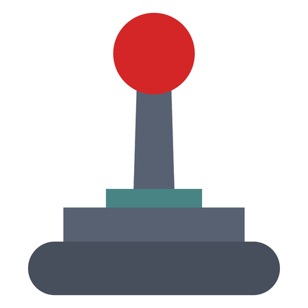 video game joystick icon vector illustration design