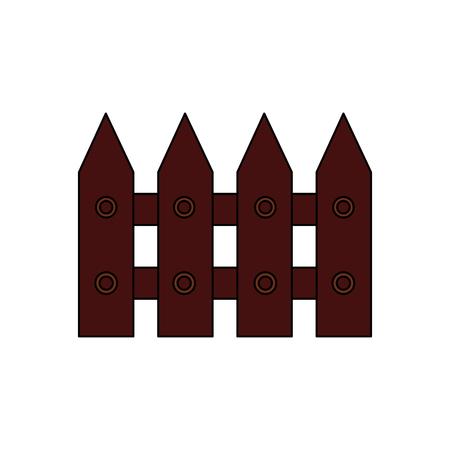 Projeto de ilustração de vetor de imagem de ícone de seção de madeira de vedação Foto de archivo - 91197147