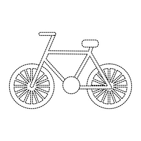 Fiets of fiets pictogram afbeelding vector illustratie