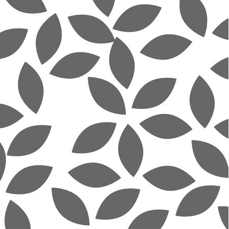 葉クラウンパターン背景ベクトルイラストデザイン
