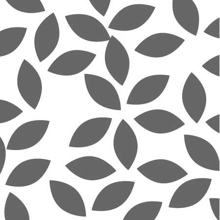 leafs crown pattern background vector illustration design