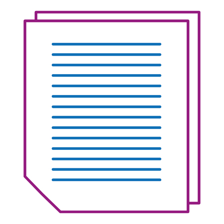 Sheet of notebook icon.