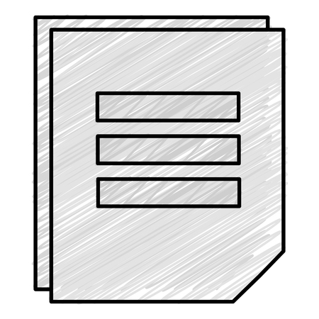 A sheet of notebook icon vector illustration design