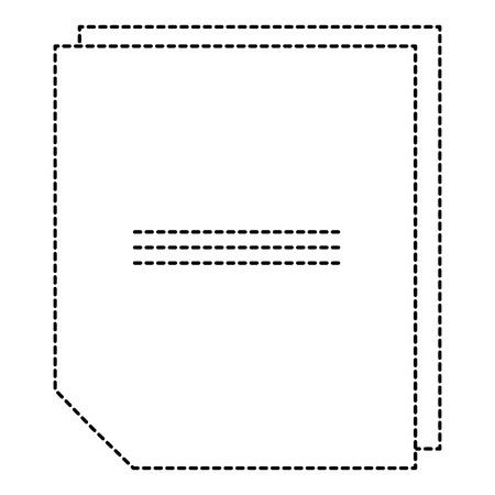 Feuille de portable icône illustration vectorielle conception Banque d'images - 91236736
