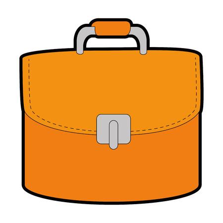 Female elegant handbag icon vector illustration design